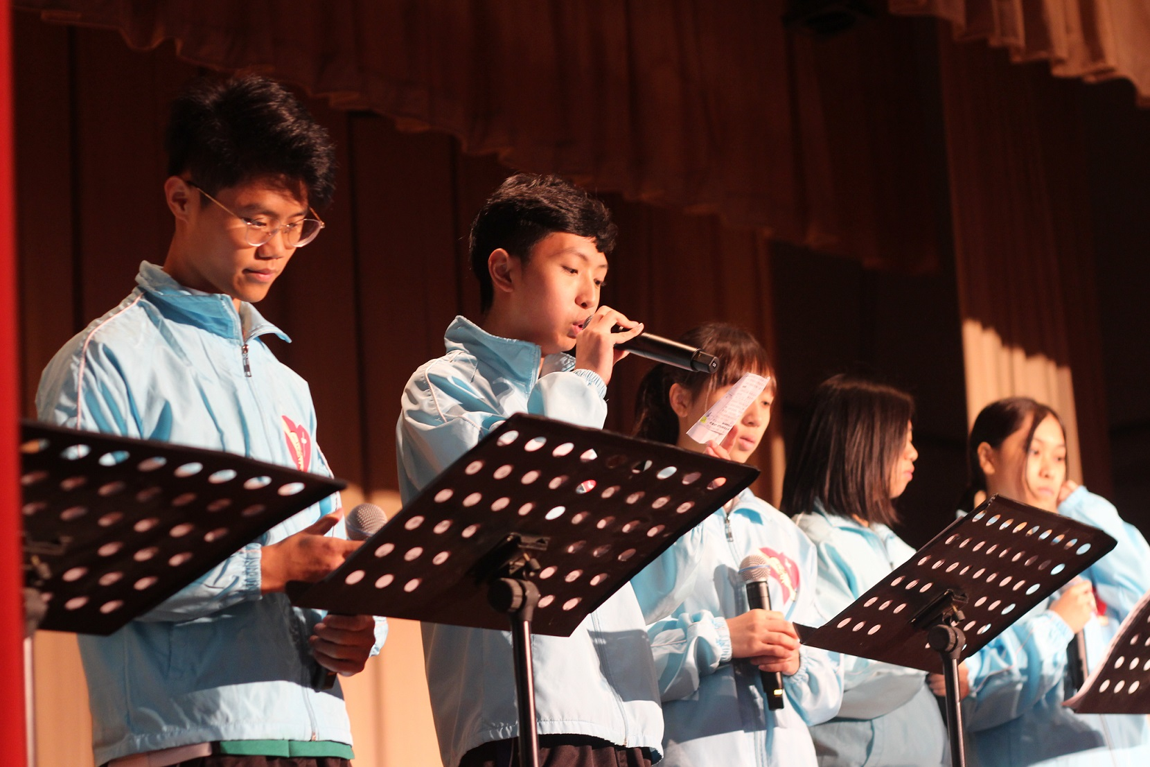 Our school students participate in religious activities actively